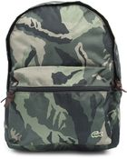 Lacoste Camo Backpack - Lyst