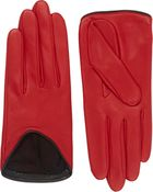 Rag & Bone Lamskin Moto Gloves - Lyst
