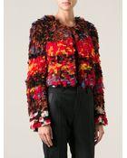 Givenchy Fringed Bolero Jacket - Lyst