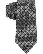 Calvin Klein Plaid Silk Tie - Lyst