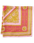 Versace Intricate Greca Scroll Foulard - Lyst