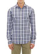 Michael Bastian Plaid Shirt - Lyst