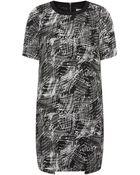 Whistles Scribble Print Dress - Lyst