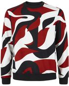 Alexander McQueen Abstract Sweater - Lyst