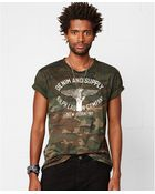 Denim & Supply Ralph Lauren Camo-Print T-Shirt - Lyst