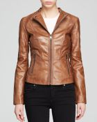 Marc New York Molly Modern Leather Jacket - Lyst