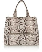 Givenchy Medium Pandora Pure Bag In Python - Lyst