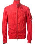 C P Company Zip Front Jacket - Lyst