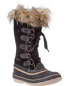Sorel Joan Of Arctic Boot Black Suede - Lyst