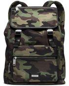 Michael Kors Windsor Camouflage Nylon Backpack - Lyst