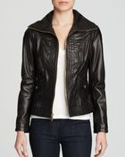 MICHAEL Michael Kors Mizzy Wing Leather Jacket - Lyst