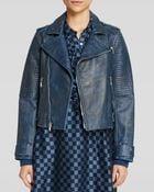 Marc By Marc Jacobs Jacket - Biker Leather - Lyst