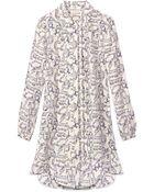 Tory Burch Cora Dress - Lyst