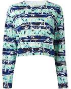 Kenzo Intarsia Sweater - Lyst