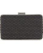 MICHAEL Michael Kors Microstud Box Clutch Bag - Lyst