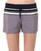 Vince Star-Print Silk Shorts - Lyst