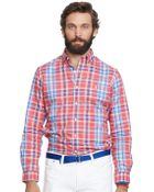 Polo Ralph Lauren Plaid Oxford Shirt - Lyst