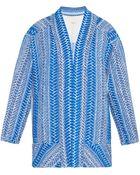 IRO Otomar Embroidered Kimono Jacket - Lyst