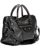 Balenciaga Classic City Leather Tote - Lyst