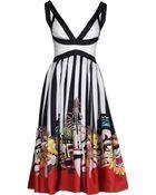 DSquared² 3/4 Length Dress - Lyst