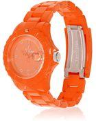 Toy Watch Monochrome Stainless Steel Watch - Lyst