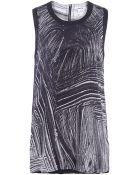 Helmut Lang Method Print Silk Top - Lyst
