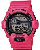 G-Shock Men'S Digital Pink Resin Strap Watch 55Mm Gls8900-4 - Lyst