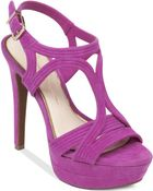 Jessica Simpson Salemm Ankle Strap Platform Dress Sandals - Lyst
