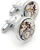 Lc Collection Vintage Watch Movements Cufflinks Minimalist - Lyst