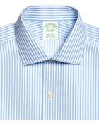 Brooks Brothers Non-iron Slim Fit Bangle Stripe Dress Shirt - Lyst