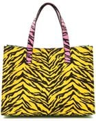 Moschino Cheap And Chic Print Canvas Tote - Multi - Lyst