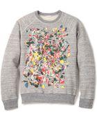 Marc Jacobs Swirly Sweatshirt - Lyst