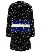 Ainea Multi Spotted Faux Fur Coat - Lyst