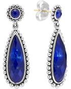 Lagos Silver Maya Lapis Drop Earrings - Lyst