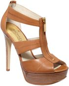 Michael Kors Berkley Platform Sandals - Lyst