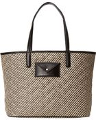 Marc By Marc Jacobs Metropolitote Straw Tote 48 - Lyst