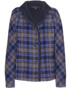 Marc By Marc Jacobs Gable Reversible Plaid Wool-Blend Jacket - Lyst
