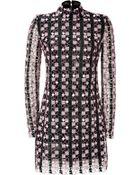 Mary Katrantzou Geometric Print Mini-Dress - Lyst