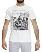 Matchless Biker Printed Half Sleeve Crew-Neck T-Shirt - Lyst
