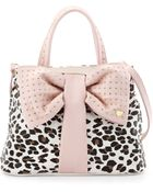 Betsey Johnson Bow-Tie Shopper Tote Bag - Lyst