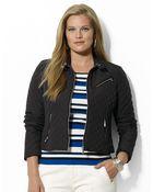 Lauren by Ralph Lauren Plus Fullzip Quilted Jacket - Lyst