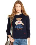Polo Ralph Lauren Intarsia-knit Bear Sweater - Lyst