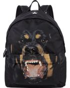Givenchy Rottweiler-Print Classic Backpack - Lyst