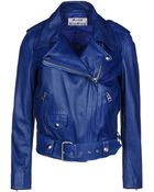 Acne Studios Leather Outerwear - Lyst