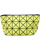 Bao Bao Issey Miyake Lucent-1 Prism Pouch Fluro Yellow - Lyst