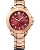 Tommy Hilfiger Women'S Rose Gold Ion-Plated Stainless Steel Bracelet Watch 38Mm 1781499 - Lyst