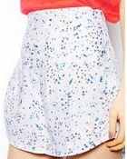 Twenty8Twelve Printed Shorts - Lyst