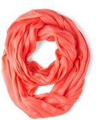 Look By M Brighten Up Circle Scarf In Sunset - Lyst