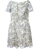 Tory Burch Lace Patchwork Dress - Lyst