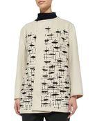 Shamask Wool/Cashmere Embroidered Jacket - Lyst